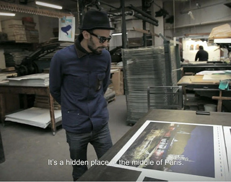 "JR - ""Printing of Lithography"" 