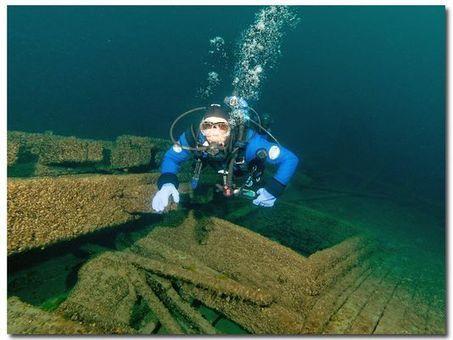 Kewaunee shipwrecks hold archaeological treasures - Green Bay Press Gazette | ScubaObsessed | Scoop.it