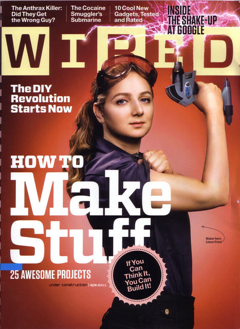 Adafruit's Ladyada (Limor Fried) named Entrepreneur of the Year by Entrepreneur Magazine @EntMagazine | mass market diy | Scoop.it