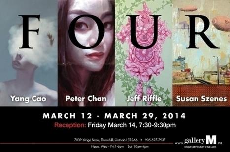 FOUR | YANG CAO, PETER CHAN, JEFF RIFFLE, SUSAN SZENES | MARCH 12-29, 2014 | International Art Scene | Scoop.it