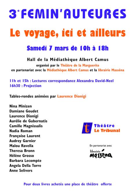 Femin'Auteures 2015 à Antibes   Actualités - informations   Scoop.it