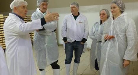 Agroalimentaire : une délégation du Monténégro découvre le Maroilles   The Voice of Cheese   Scoop.it