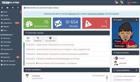 TeamPlatino - Curso de SEO y monetización   Informática Educativa y TIC   Scoop.it