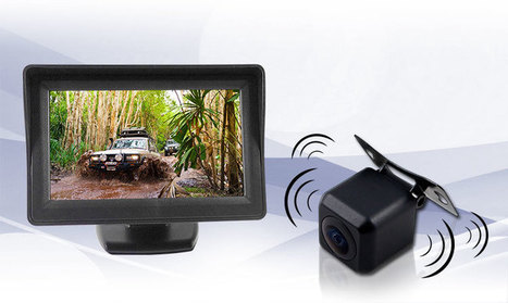 4.3 inch Monitor 12V Wireless car reversing camera kit |Elinz | car DVD Player | Scoop.it