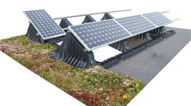 The 'Sun-Root' Living Roof System—Green Roofs embrace Renewable Solar Energy | Vertical Farm - Food Factory | Scoop.it