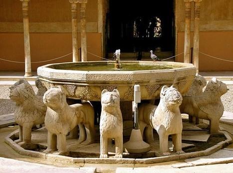 El simbolismo del Patio de los Leones | Al-Ándalus | Scoop.it