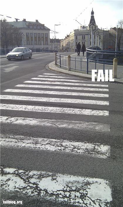 CLASSIC: Pedestrian Crossing FAIL | Fail | Scoop.it