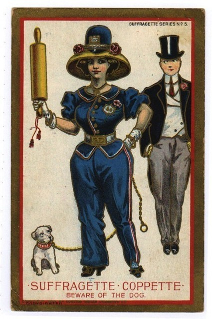 Vintage Anti-Suffrage Postcards » Sociological Images   What Can I Collect: All things Collectible   Scoop.it