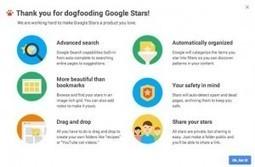 Google Stars veut révolutionner la gestion des favoris | Les Outils Google | Web information Specialist | Scoop.it