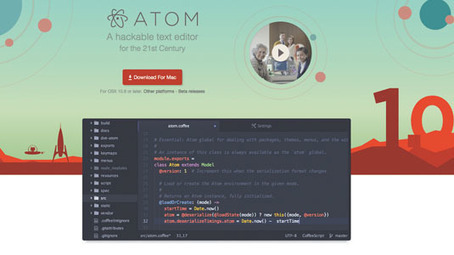 Get more from the Atom text editor | Web design | Creative Bloq | Julien Canepa HTML5 CSS3 JS... | Scoop.it