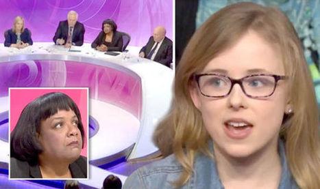 REVEALED: The smart anti-EU schoolgirl who left politicians speechless on Question Time | Birding Beyond Boundaries | Scoop.it