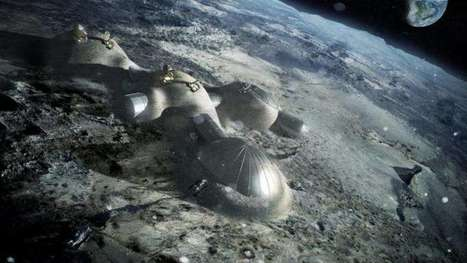 Want to build a moon base? Easy—just print it | Space matters | Scoop.it