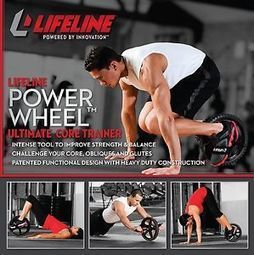 Lifeline Power Wheel Core Exercise Fitness Health Strength Balance Trainer | Fitness, Health, Running and Weight loss | Scoop.it