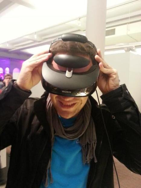 Twitter / ThibaultBuisse : Tête de cyborg avec la lunette ... | Sony | Scoop.it