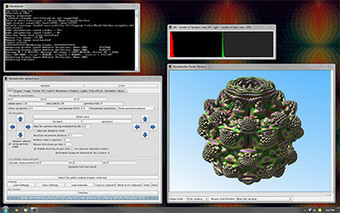 Mandelbulber ::: 3D fractal explorer ::: open source / 64-bit / ray marcher | Algorithmic Music Composition | Scoop.it