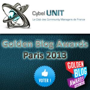 Plus que 3 jours pour remporter un Golden Blog Award ! Votez pour Nous ! | Meetings Cybel UNIT | Scoop.it