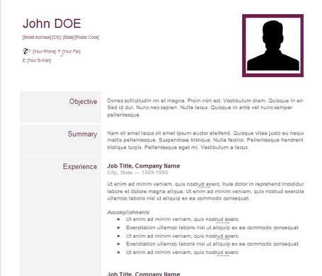 CV-Creative Resume - Google Drive | E-Learning and Online Teaching | Scoop.it