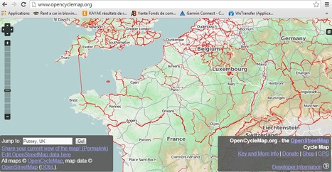OpenCycleMap.org - the OpenStreetMap Cycle Map | Les aménagements cyclables | Scoop.it