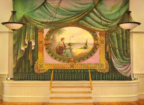 History Captured In Painted Curtains - Vermont Public Radio   Public History Professional News and Insights   Scoop.it