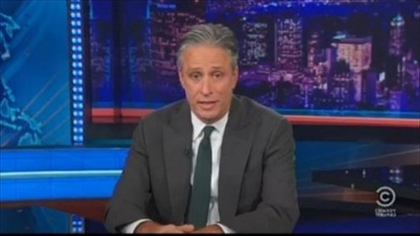 Jon Stewart: The 'red line' Syria crossed is actually a 'd*ck-measuring ribbon' | Daily Crew | Scoop.it