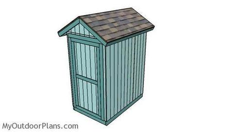 4x6 Shed Plans | MyOutdoorPlans | Free Woodworking Plans and Projects, DIY Shed, Wooden Playhouse, Pergola, Bbq | Garden Plans | Scoop.it