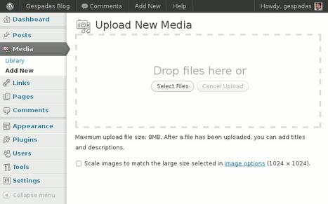 WordPress 3.3 Beta 1: Novedades, Capturas de Pantalla y Descarga Directa   Gespadas   Aplicaciones y Herramientas . Software de Diseño   Scoop.it