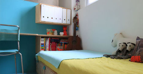 Chambre des enfants : comment gagner de la place ? | Immobilier | Scoop.it