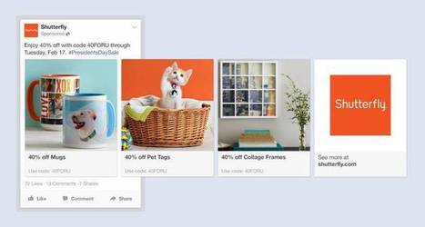 Facebook's New Ads Automatically Show A Business' Products That You'll WantMost | Social Media Trends & News | Scoop.it