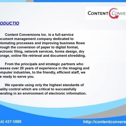 Data entry, Online Document Storage, document Scanning Content Convers | contentconversions | Scoop.it