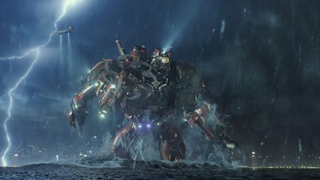 'Pacific Rim' review: A rock 'em, sock 'em sci-fi spectacle with heart - Washington Post | ApocalypticFiction | Scoop.it