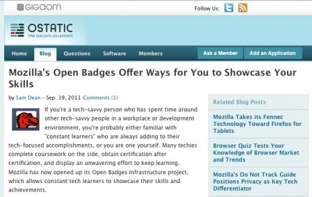 Open Badges launch: rocket fuel, reaction andresources | Badges for Lifelong Learning | Scoop.it