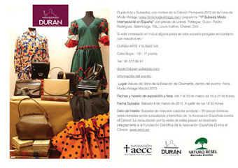 Madrid is User Friendly: Vintage Fashion Fair Madrid 2013: March 7-10 | Spain Fashion | Scoop.it
