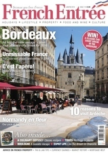 French Entree Magazine - Magazine Subscription Competition - 2016   Walking Holidays in France   Scoop.it