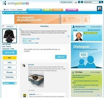 Entrepatients.net, sur un air de Facebook   Le Quotidien du Medecin   le monde de la e-santé   Scoop.it
