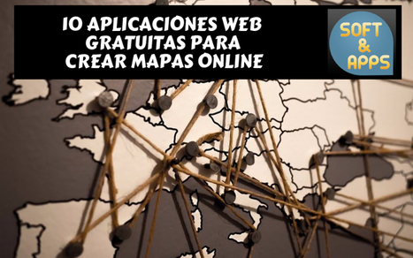 Crear mapas online con estas 10 aplicaciones web gratuitas | Tecnología Educativa Morreducation | Scoop.it
