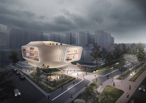 daegu gosan public library by dia studio | Professional development of Librarians | Scoop.it