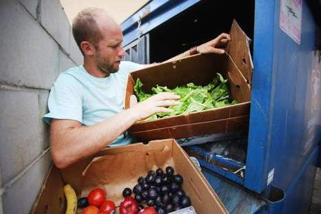 Dumpster dining: Environmentalist raises awareness about food waste | Food issues | Scoop.it