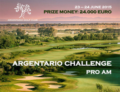Argentario Pro Am, golf challenge in Tuscany | Golf in Italy | Scoop.it