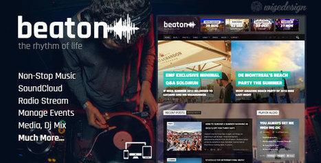 Beaton - Music, Radio & Events WordPress Theme | Technology Nutshell | Scoop.it