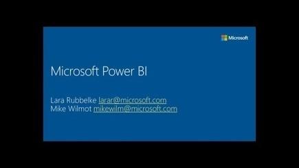 Microsoft Power BI (Channel 9) | Pivot tables | Scoop.it
