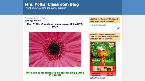Educational Blogging | Tech Integration in the PYP Classroom | Scoop.it
