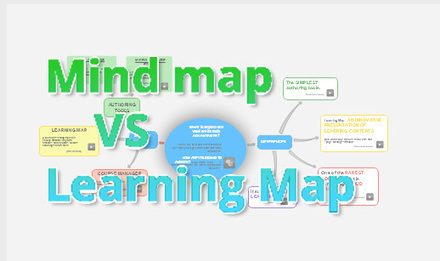7 differences between mind map and Learning Map | The Edynco blog | Better design, better learning. Élaborer mieux, apprendre mieux. | Scoop.it