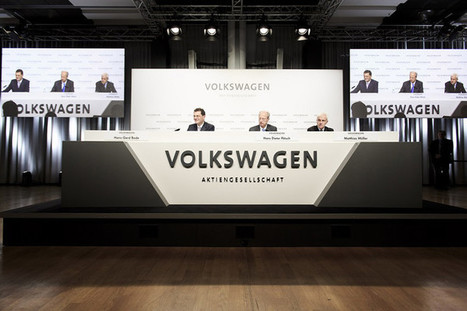 "Criminalité en col blanc : Volkswagen, un test pour la justice américaine | ""green business"" 