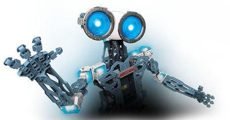 Meccano repart de plus belle avec son humanoïde Meccanoid G15 KS | Ressources pour la Technologie au College | Scoop.it