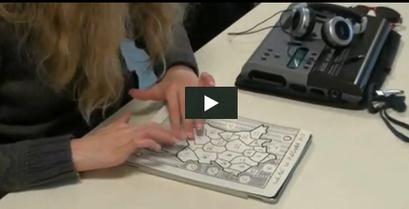 La tablette tactile, un outil précieux pour des élèves déficients visuels | Quatrième lieu | Scoop.it