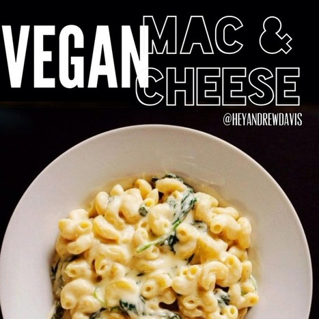 Vegan Recipe: Mac 'n' Cauliflower Cheeze | Vitacost.com Blog | Recipes | Scoop.it