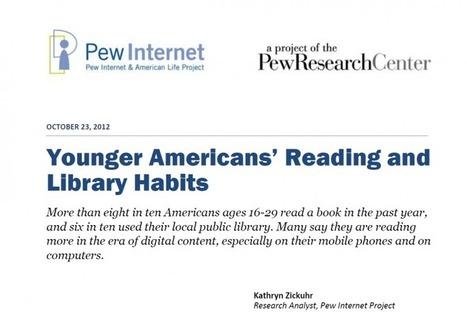 Les jeunes Américains, la lecture et l'usage des bibliothèques | Enssib | Les Enfants et la Lecture | Scoop.it