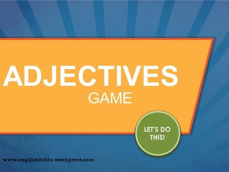 New games by Englishinlife | English In Life | Scoop.it