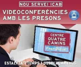 El ICAB estrena el 21 de septiembre un nuevo servicio de videoconferencias con los centros penitenciarios   El dret penitenciari a casa nostra   Scoop.it