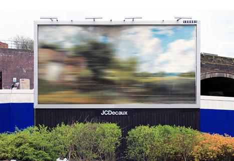 Ben Long's brilliant blurred billboards on show in Birmingham...   Art for art's sake...   Scoop.it